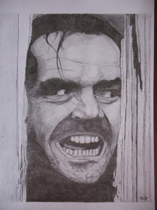 Jack Nicholson by Rdavis63